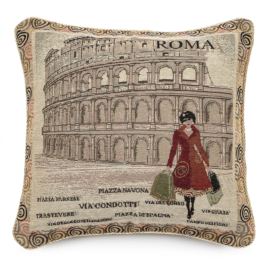 Forbyt Vankúšik Ornament Řím, 43 x 43 cm