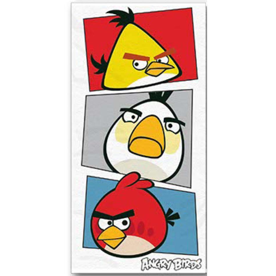 Jerry Fabrics Osuška Angry Birds 069, 70 x 140 cm