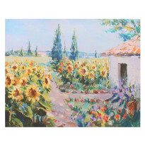 Obraz na plátne Sunflowers, 56 x 46 x 2 cm