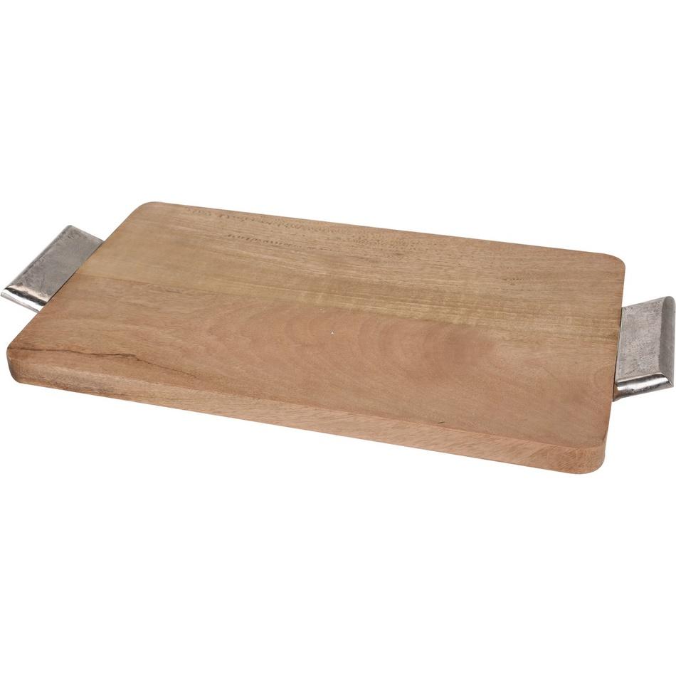 Servírovací tác z mangového dřeva 45 x 27,5 cm