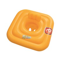 Șezut gonflabil Bestway baby Step A, cu spătar, 76 cm x 76 cm