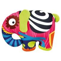 Elefant colorat Bino, 39 x 30 cm