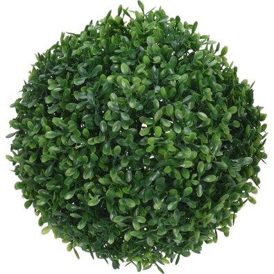Mű buxus, zöld, átmérő: 23 cm