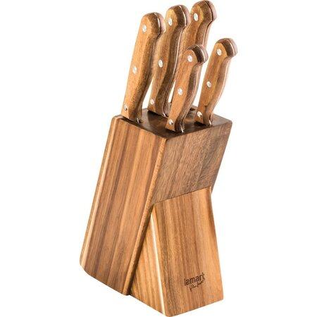 Lamart LT2080 Wood set 5 nožů v bloku