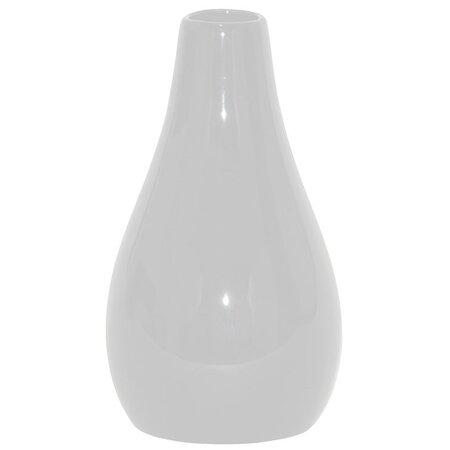 Keramická váza Santaella biela, 22 cm