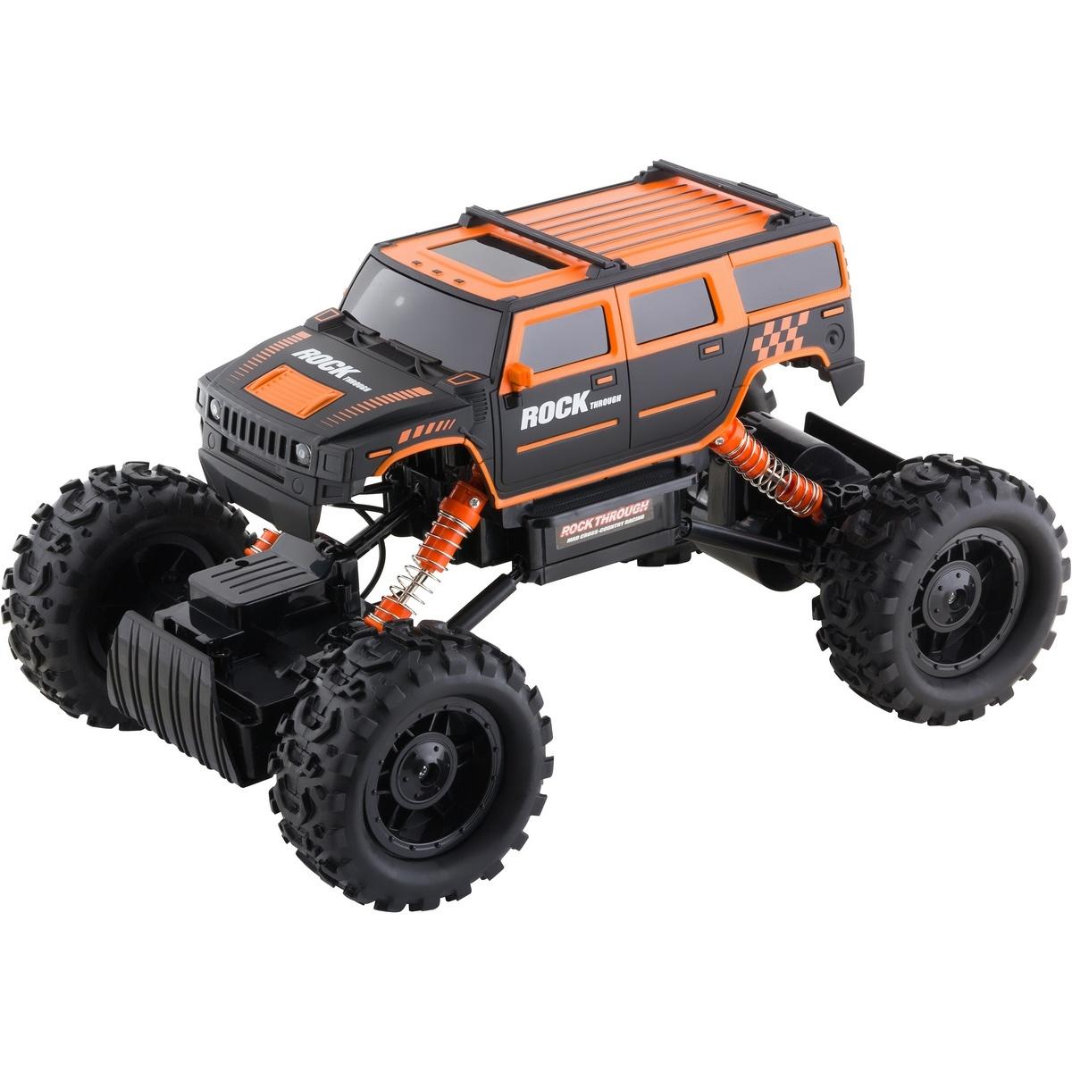 Buddy Toys BRC 14.613 Auto na diaľkové ovládanie RC Rock Climber, oranžová