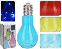 LED Lampa Bulb, červená