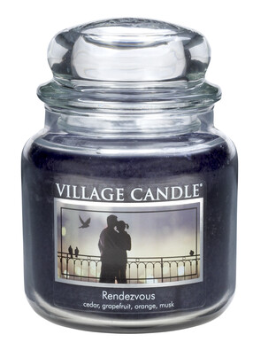 Village Candle Świeczka zapachowa Randka - Rendezvous, 397 g
