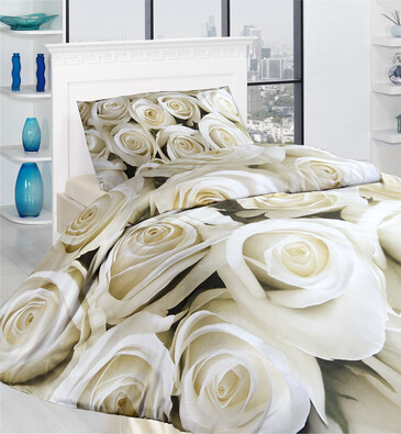 Povlečení Blanch 3D, 140 x 200 cm, 70 x 90 cm