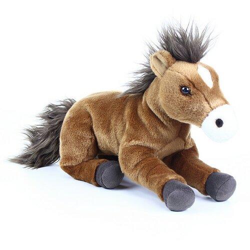 Rappa plüss fekvő ló, 35 cm