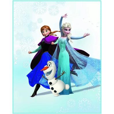 Detská deka Ľadové kráľovstvo Frozen Enjoy, 110 x 140 cm