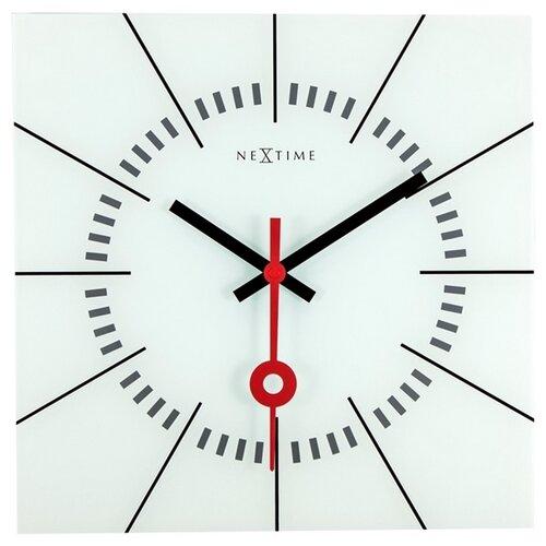 Nextime Stazione 8636wi nástenné hodiny