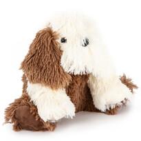 Câine pluș Jonathan maro, 27 cm