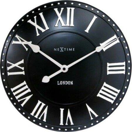 Nextime 3083zw nástěnné hodiny