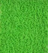 Napínací froté prostěradlo, zelená, 90 x 200 cm