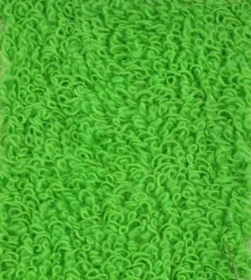 Napínací froté prostěradlo, zelená, 180 x 200 cm