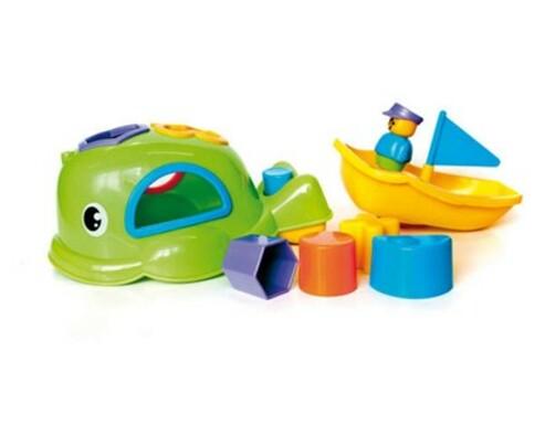 BumbleBee Zábavná velryba 5 v 1