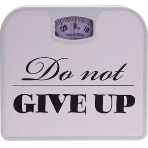 Osobní váha Do not give up, bílá