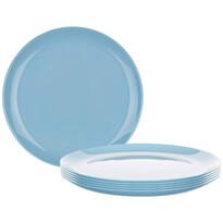 Luminarc Talerz płytki DIWALI 25 cm, 6 szt., niebieski