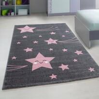 Kusový dětský koberec Kids 610 pink
