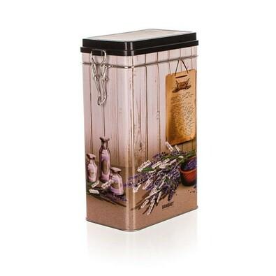 Banquet Plechovka s patentným uzáverom Lavender