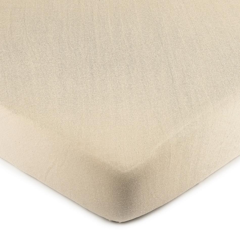 4Home Jersey prostěradlo béžová, 60 x 120 cm