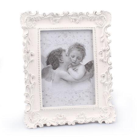 Drewniana ramka na zdjęcia Amore, biały