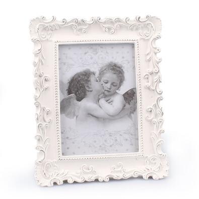 Fotorámeček Amore, bílá