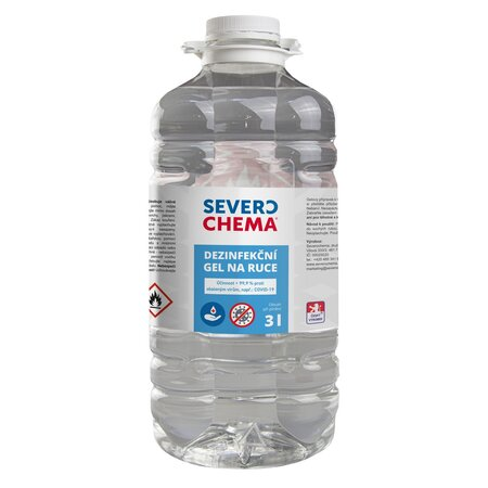 Severochema Dezinfekční gel na ruce, 3 l