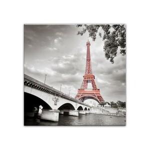 Obraz na plátně Pont Paris 58 x 58 cm
