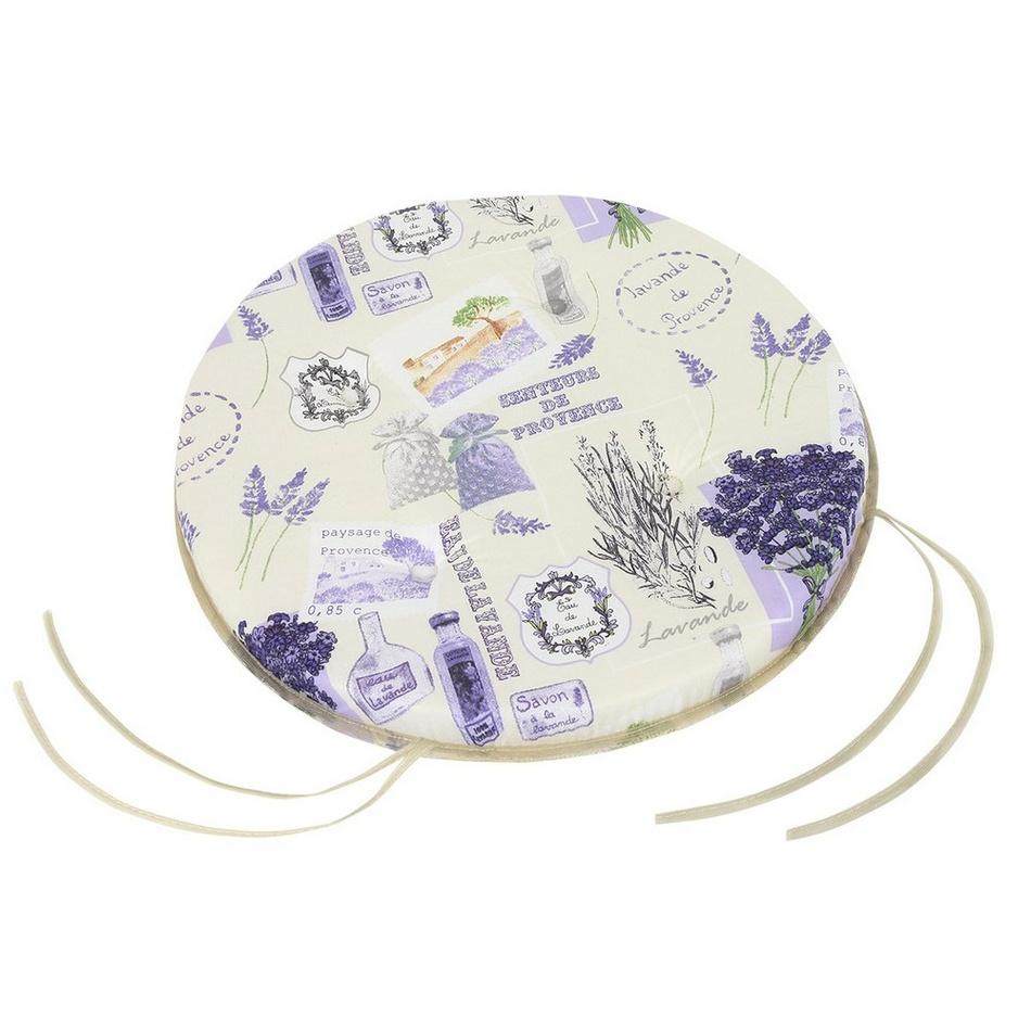 BELLATEX Sedák kulatý hladký GITA Provence 40 cm