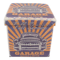 Skládací taburet Garage, 32 cm