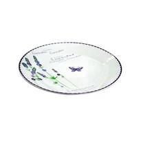 Toro Ceramiczny talerz płytkii LAWENDA, 27 cm
