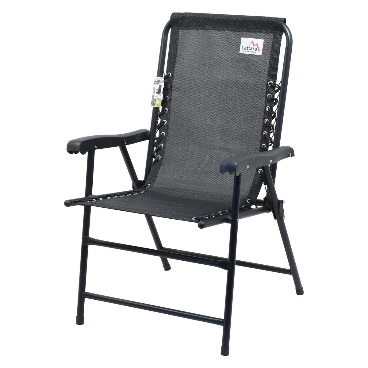 Cattara 13466 Židle zahradní skládací TERST černá