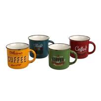 Altom Sada porcelánových hrnčekov Coffee 330 ml, 4 ks