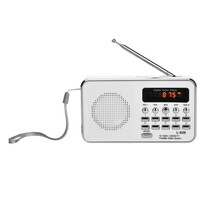 Bravo B-6039 digitální rádio Sam, bílá