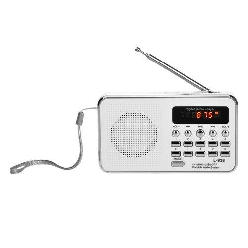Bravo B-6039 digitálne rádio Sam, biela