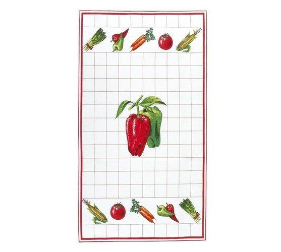 Kuchynská utierka, paprika, 40 x 70 cm Bellatex