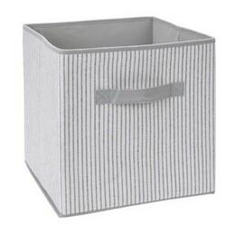 Úložný box 30 x 30 x 30 cm, sivo-biela