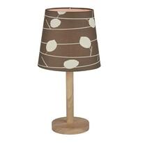 Stolná lampa Qenny 6, hnedá