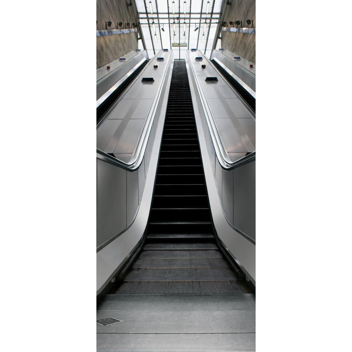 Fototapeta eskalátor 95 x 210 cm, Wall