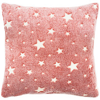 Față de pernă 4Home Stars luminoasă roșie, 40 x 40 cm