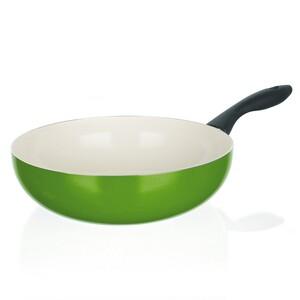 Banquet WOK pánev 24 cm zelená