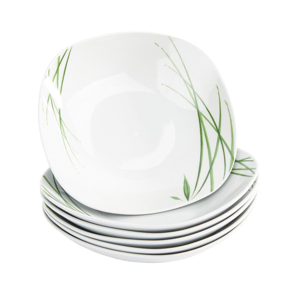 Fotografie Domestic 6dílná sada hlubokých talířů Delia, 21,5 cm