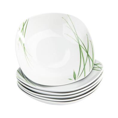 Domestic Delia 6 részes mély tányér készlet, 21,5 cm