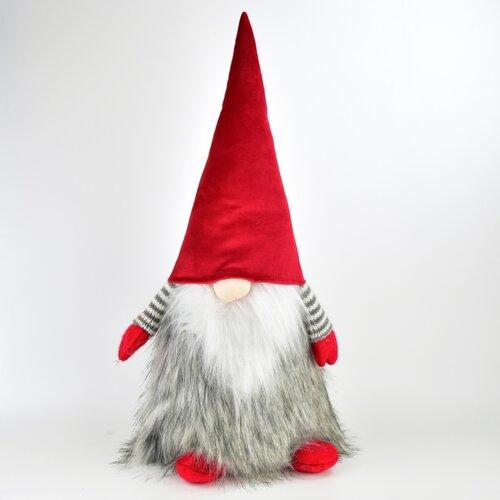 Vianočný textilný škriatok Gorrin, 45 cm