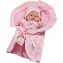 Berbesa Valentina baba, rózsaszín, 28 cm