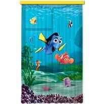 Detský záves Hľadá sa Nemo, 140 x 245 cm