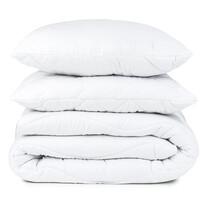 Egész évben használható takaró és párna szett, 200 x 220 cm, 2 db 70 x 90 cm