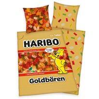 Bavlnené obliečky Haribo Goldbären, 140 x 200 cm, 70 x 90 cm